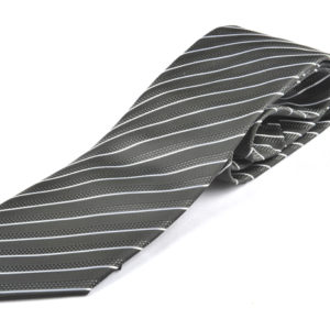 Γραβάτα Angelo Feliganno γκρι/λευκό