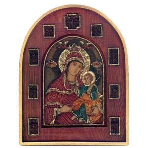 Εικόνα Η Παρθένος, με μινιατούρες The Virgin with Miniatures