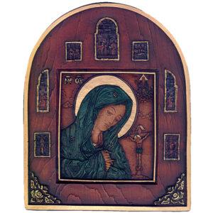 Εικόνα Παναγία Κλέουσα - Η Θρηνωδούσα - The Virgin in lament