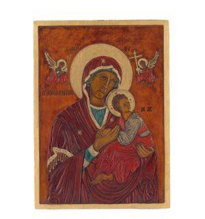 Εικόνα Παναγία Αμόλυντος - Τhe Virgin Amolyntos (Immaculate)