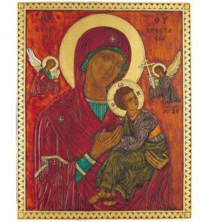 Εικόνα Παναγία Φοβέρα - The Virgin Formidable protection