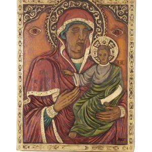 Εικόνα Παναγιά η Θαυματουργή, Νέα Ρόδα - the Virgin, Nea Roda