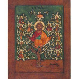 Εικόνα Η Άμπελος του Χριστού - The Vineyard