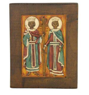 Εικόνα Άγιος Κωνσταντίνος & Αγία Ελένη - St. Kondtantinos & St.