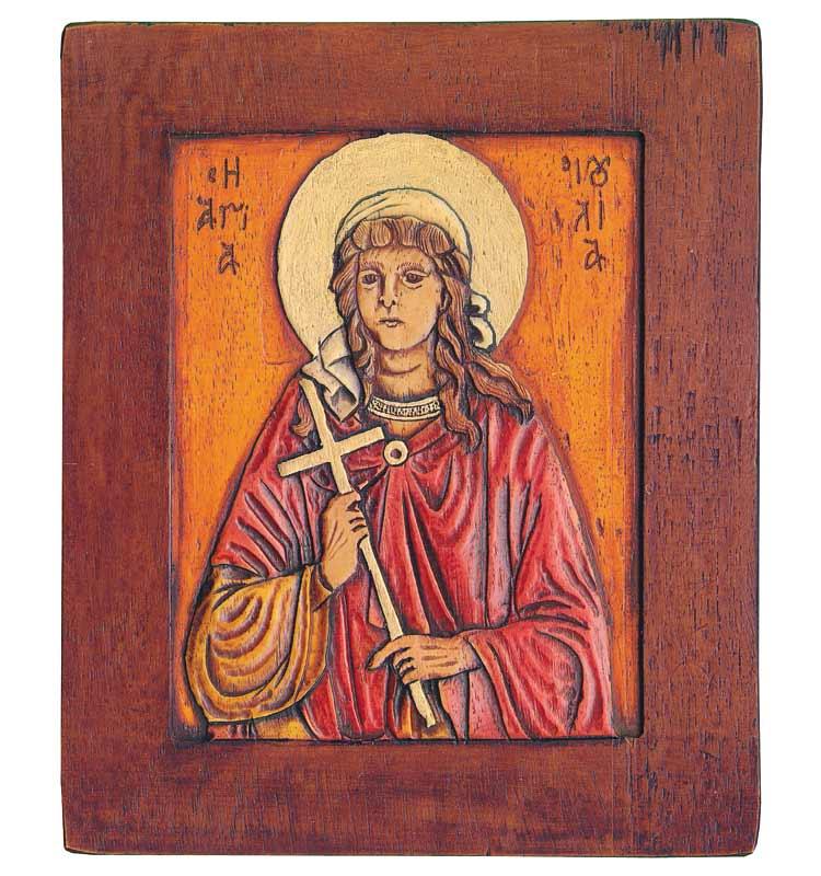 Εικόνα η Αγία Ιουλία - St. Ioulia