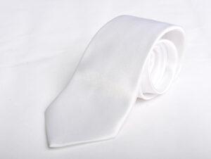 Γραβάτα Angelo Feliganno Λευκή