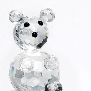 Γυάλινο αρκουδάκι 4 εκ.