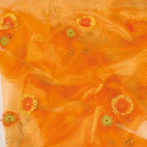 Ύφασμα Λουλούδι-Ήλιος 50cm